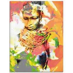 Artland Glasbild Afrikanerin, Frau (1 Stück)