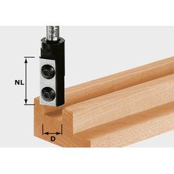 Festool Nutfräser-Wendeplatten HW S8 D10/25 WP Z1