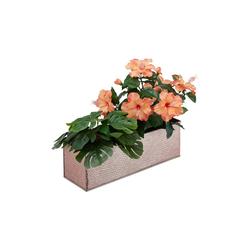 relaxdays Blumenkasten Blumenkasten für innen braun