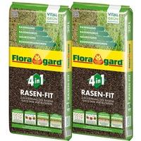 Floragard Rasen-Fit 4-in-1 2 x 20 l