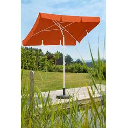 Schneider Schirme Sonnenschirm Ibiza, LxB: 180x120 cm, ohne Schirmständer orange