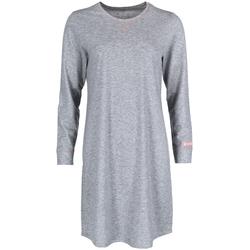 Mey Nachthemd stone grey melange, Gr. M, Baumwolle - Damen Nachthemd