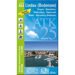 Lindau (Bodensee) 1 : 25 000
