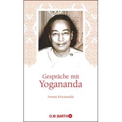 Gespräche mit Yogananda: Buch von Yogananda/ Swami Kriyananda