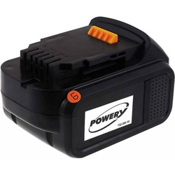 Powery Akku für Dewalt Akkuschrauber DCD730, 14,4V, Li-Ion