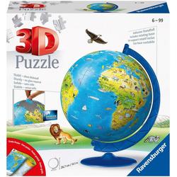 Ravensburger Puzzleball Kinderglobus in deutscher Sprache, 180 Puzzleteile, Made in Europe