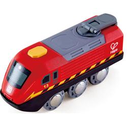 Hape Spielzeug-Eisenbahn Zug mit Kurbelantrieb