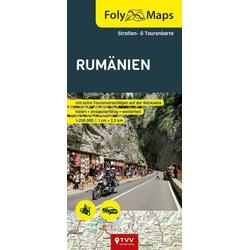 FolyMaps SET Rumänien 1:800 000