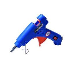 Bleu pistolet à colle thermofusible mini enfants fait à la main bricolage bijoux accessoires 20 W
