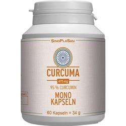 CURCUMA 475 mg 95% Curcumin Mono-Kapseln