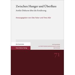 Zwischen Hunger und Überfluss: Buch von