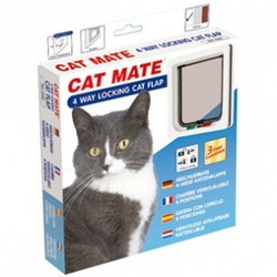 Cat Mate kattenluik 309  Wit