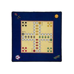 Teppich Mensch ärger Dich nicht Teppich mit Figuren, Schmidt Spiele, Quadratisch, Höhe 4 mm