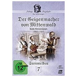 Ludwig Ganghofer - Der Geigenmacher von Mittenwald - DVD  Filme