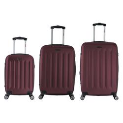 InUSA Philadelphia 3pc Hardside Spinner Luggage Set 19