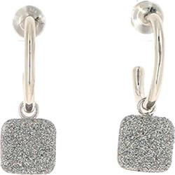 Pesavento Pesavento Damen-Ohrhänger 925er Silber Schwarz Schwarz 32015266