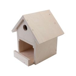 Pebaro Holzbaukasten Holzbausatz Vogelhaus
