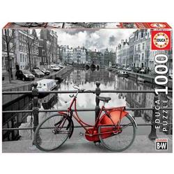 Educa Puzzle. Amsterdam black & white 1000 Teile