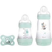 MAM Babyflasche Easy Start Anti-Colic Elements Starter Set S, Waschbär
