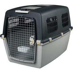 Transportbox Hund Gulliver, IATA Flugbox, Gulliver 7: 102x75x73 cm, dunkelgrau/hellgrau