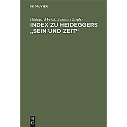 Index zu Heideggers