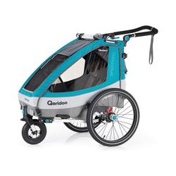 Qeridoo Fahrradkindersitz Sportrex1 2020 Petrol