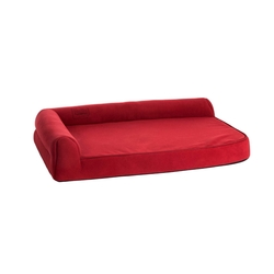 Orthopädisches Hundebett Ortho Visco, 80x60x21cm, rot