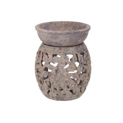 Guru-Shop Duftlampe Indische Duftlampe, ätherisches Öl Diffusor,.. Ø 7.5 cm x 7.5 cm x 10 cm x 7.5 cm