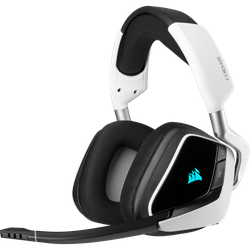 Corsair Void Elite Wireless White, Gaming Headset, Weiss