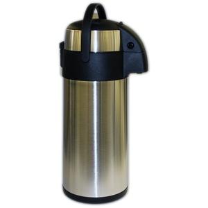 TOP Pumpkanne Thermoskanne Airpot Isolierflasche 5 Liter Edelstahl