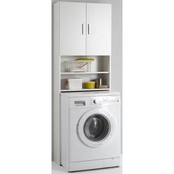 FMD Waschmaschinenumbauschrank Olbia mit 2 offenen Fächern
