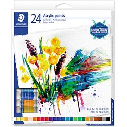 Acrylfarben, 24 x 12 ml