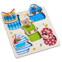 Haba Puzzle Greifpuzzle Spielsachen, 5 Puzzleteile