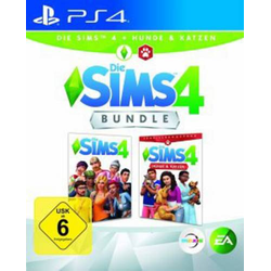 Sims 4 inkl. Hunde & Katzen PS4 USK: 6