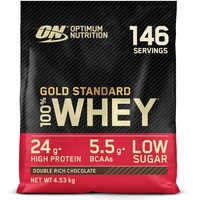 Optimum Nutrition Gold Standard 100% Whey Double Rich Chocolate Pulver 4540 g
