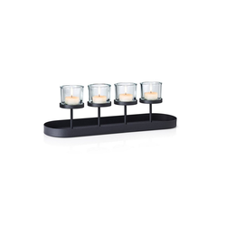 BLOMUS Kerzenhalter Kerzenleuchter NERO Reihe