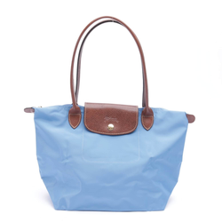 Longchamp Damen Handtasche blau / braun, Größe M, 5076462