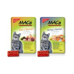 Mac's Cat Pouch Pack Ente & Shrimps 100 g