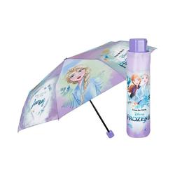 p:os Langregenschirm Die Eiskönigin 2 Taschenschirm, 50/8 lila