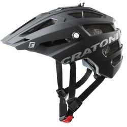 Cratoni Mountainbikehelm MTB-Fahrradhelm AllTrack, Reflektoren, dreifache Höhenverstellung schwarz Rad-Ausrüstung Radsport Sportarten