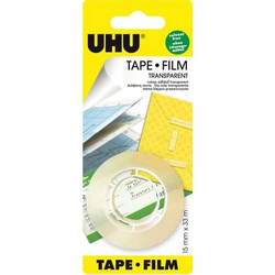 Klebefilm Tape Film 15mmx33m transparent VE=2 Stück