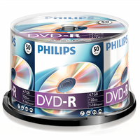 Philips DVD-R 4,7GB 16x Spindel