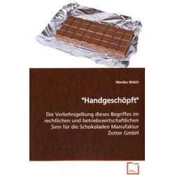 Handgeschöpft als Buch von Monika Walch