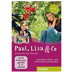 Paul, Lisa & Co: A1/2 - Interaktives Kursbuch für Whiteboard und Beamer, DVD-ROM
