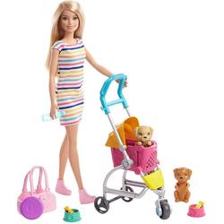 Mattel® Anziehpuppe Barbie Hunde-Buggy