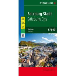 Salzburg Stadt Stadtplan 1:7.500 - 1:15.000