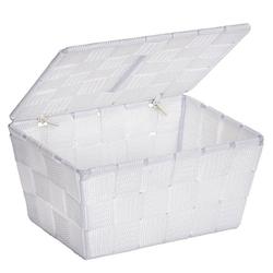 WENKO Aufbewahrungsbox weiß 14 cm x 10 cm