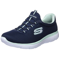 SKECHERS Summits navy-mint/ white, 36