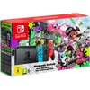 Nintendo Switch Konsole 32 GB neon-rotblau + Splatoon 2