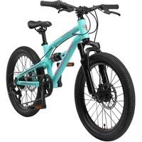 bikestar Kinderfahrrad, 7 Gang Shimano, Tourney RD-TY300 Schaltwerk, Kettenschaltung, Aluminium